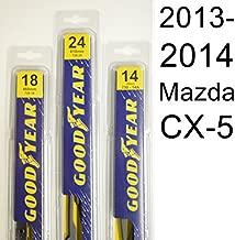Mazda CX-5 (2013-2014) Wiper Blade Kit - Set Includes 24