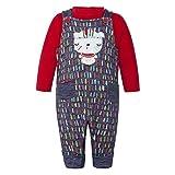 Tuc Tuc Peto Felpa Tipi Mono, Azul (Azul 00), One Size (Tamaño del Fabricante:3-6M) para Niños