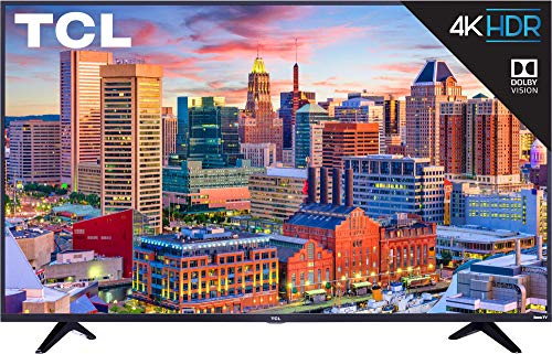 43-Inch 4K Ultra HD Roku Smart LED TV (2018 Model) - TCL 43S517