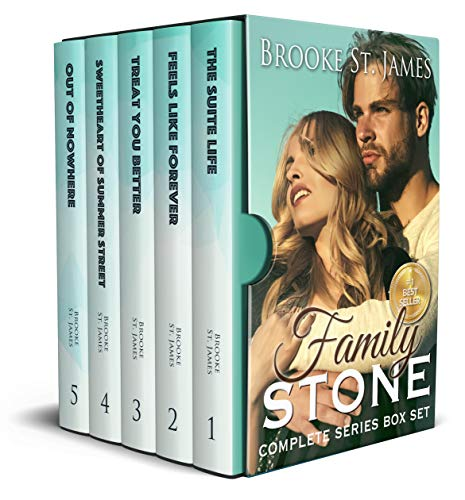 The Family Stone Complete Box Set: All Five Books in the Stone Family Romance Series by [Brooke St. James]