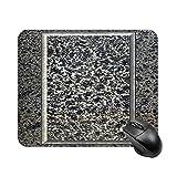 Mauspad mit Granitplatte, quadratisch, Trompe l oeil, wasserdicht und bequem, Computer-Mauspad mit...