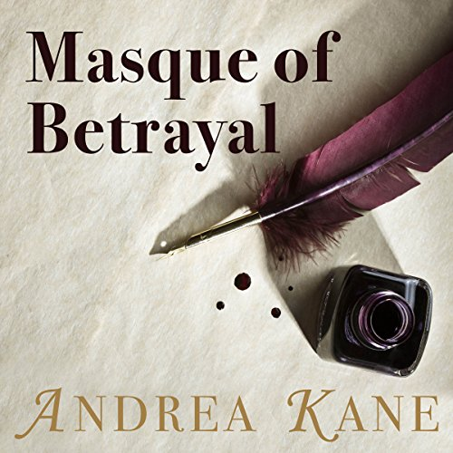Masque of Betrayal audiobook cover art