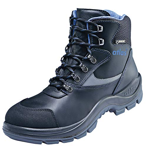 Atlas GTX 535 XP Goretex S3 Safety Boots Size 11 Black Size 10