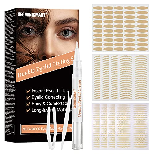 Eyelid Tape, Droopy Eyelid Stickers, Droopy Eyelid Lift Cream, Invisible...