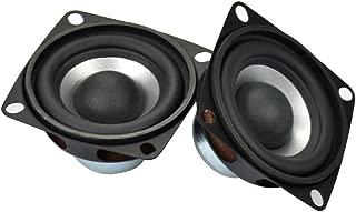AIYIMA 2Pcs 2Inch Audio Portable Speakers Full Range Speaker 4Ohm 12W DIY Stereo HiFi Horn Loudspeaker Home Theater Accessories