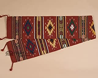 Mission Del Rey Southwestern Table Runner -Hand Woven Wool 10