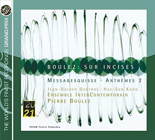 BOULEZ/ SUR INCISES/MESSAGESQUISSの詳細を見る