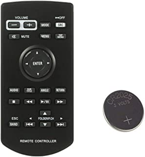 Car Audio Remote Control for Pioneer CXE5116 AVH X6500DVD,AVH X490BS,AVH 1300NEX,AVH 1330NEX,AVH X2800BS,AVH X3500BHS,AVH X3600BHS,AVH X3700BHS,AVH X3800BHS, AVH 165DVD,AVH 170DVD with Battery