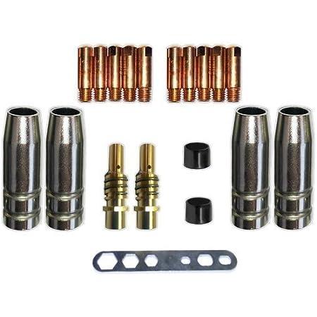 5 x Düsenstock MIG//MAG SB15 TBI 150 Ergoplus Gasdüsenträger Brenner Düsenhalter