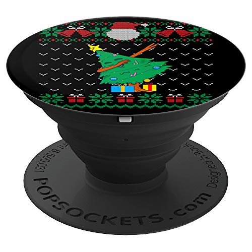 Dabbing Christmas Tree, Ugly Xmas Sweater Dab Gift Kids Boys PopSockets Grip and Stand for Phones and Tablets