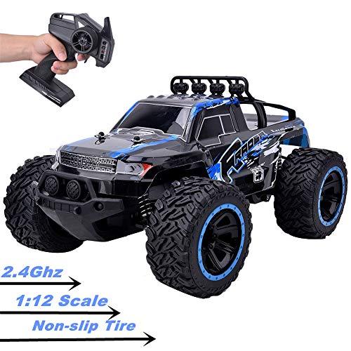 Ferngesteuertes Auto, RC-Raupenwagen mit 2,4 g Heckantrieb im Maßstab 1:12, 20 km/h Hochgeschwindigkeits-Geländewagen für Kinder, Geburtstags Erwachsene