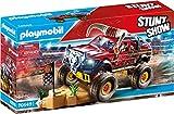 Playmobil - Stuntshow Juguete, Monster Truck Horned, Multicolor (70549)