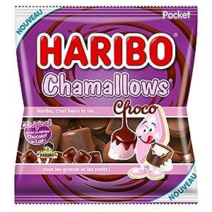 haribo - choco chamallows - chocolate marshmallow - 160g Haribo – Choco Chamallows – Chocolate Marshmallow – 160g 51nsoAtNmrL