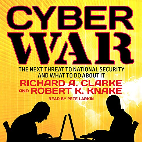 Cyber War audiobook cover art