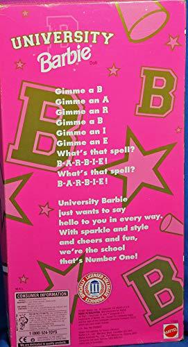 Barbie University Tennessee Cheerleader Doll