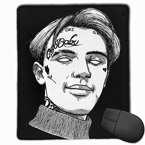 Lil Peep Washable Printed Stylish Office Gaming Gaming Mouse Pad