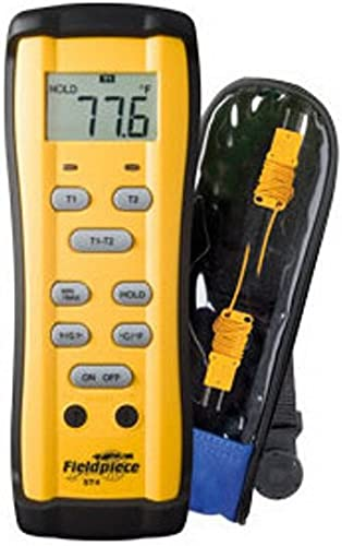 new arrival Fieldpiece lowest ST4 Dual Temperature Meter, -58 to high quality 2000F(-50 to 1300C) sale