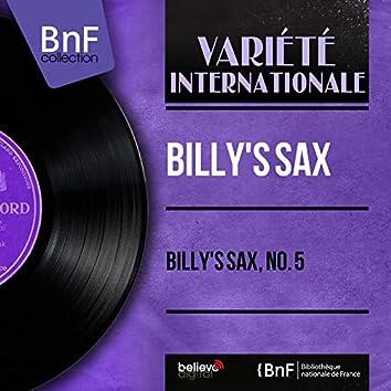 Billy's Sax, No. 5 (Mono Version)