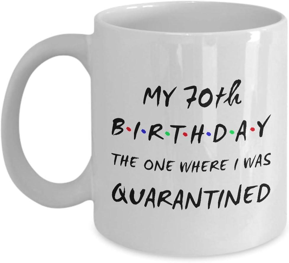 70TH BIRTHDAY Coffee Challenge the lowest price Mug - My 70th Wa I Sale item Where One The Birthday