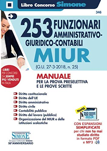 253 Funzionari amministrativo-giuridico-contabili - MIUR
