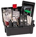 Tür Öffner Werkzeugkoffer Öffnungs Set Hausmeister Kiste Pro II von Multipick ® - Der Retter in der Not - Überkomplettes Schlüsseldienst Profi Set