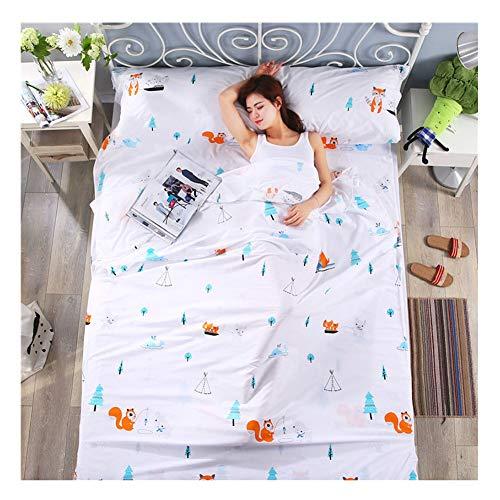 YAOTT Baumwollmischung Hüttenschlafsack,Reiseschlafsack Schlafsack Inlett, Leicht & kompakt, Schlafsack Inlay für Reisen, Wandern, Hotels 1 160 * 230cm