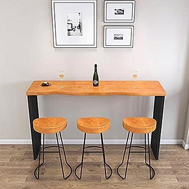 Table Bar Table de Bar Maison Haute Pieds sur Le Mur Bar de thé Shop Balcon fenêtre Table de Table Longue Table Tables de Sal