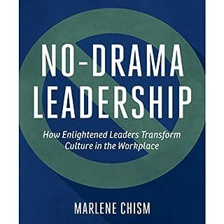 No-Drama Leadership audiobook cover art