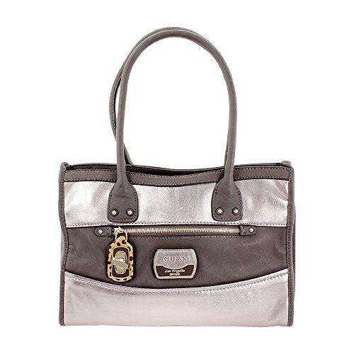 Guess Hazelton Bronze Ladies Tote Handbag MG425406PEW