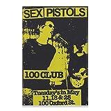 Retro-Poster Sex Pistols Leinwand Poster Schlafzimmer Dekor