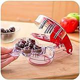 Snocciolatore per Ciliegie e Olive professionale,Rosso,zl138