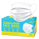 [Made in Korea] Lift'D 3-Layer Medical Face Masks - 50 Masks, Super Soft, Odorless, Non- Skin Irritation Non- Woven Fabric, Comfortable Elastic Earloop, Protection Covering