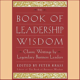 The Book of Leadership Wisdom audiobook cover art