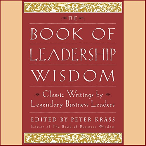 Couverture de The Book of Leadership Wisdom