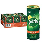 8.45 ounce/250 milliliter sleek Slim Can is ideal for on the go refreshment 30 pack: Provides plenty of sparkling refreshment; Enjoy chilled or mix with cocktails Experience the subtle and mouthwatering flavor of peach with zero calories and zero swe...