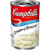 A soup made with high-quality broccoli, cream, and onions Packaged in a non-BPA-lined, 10.5 oz. recyclable can Enjoy a bowl on its own or incorporate the creamy soup into recipes that need a rich boost 90 calories per 1/2 cup serving