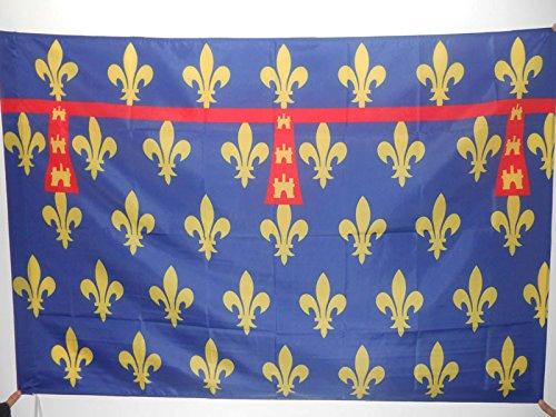 AZ FLAG Bandera del Condado DE Artois 150x90cm para Palo - Bandera COMTÉ D'ARTOIS - Francia 90 x 150 cm