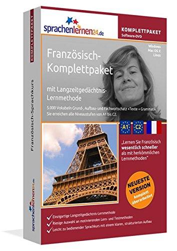 Französisch Sprachkurs: Fließend Französisch lernen. Lernsoftware-Komplettpaket: DVD-ROM fr Windows/Linux/Mac OS X inkl. integrierter Sprachausgabe mit ber 5700 Vokabeln und Redewendungen.