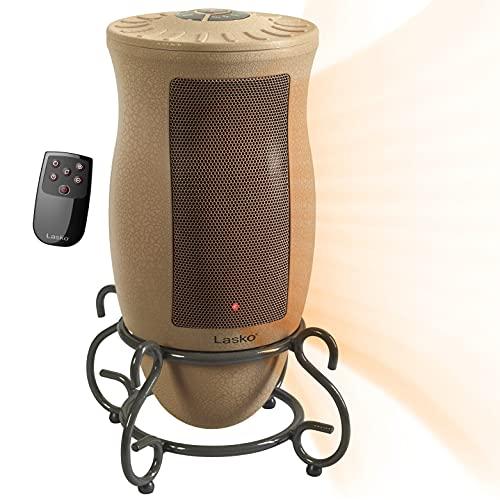 Lasko Designer Series Ceramic Space Heater-Features Oscillation,...