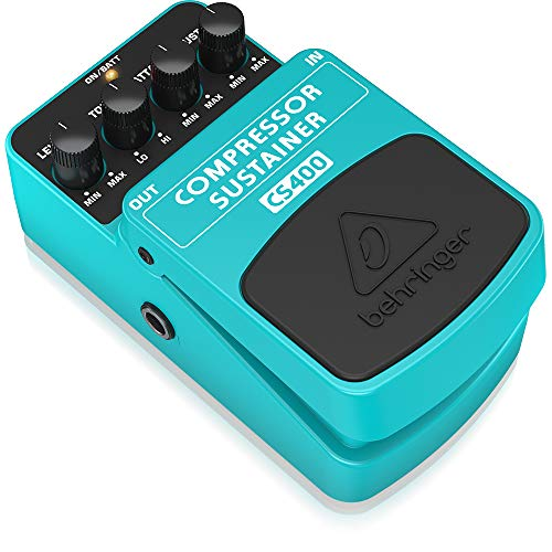 Behringer Compressor/Sustainer CS400 Ultimate Dynamics Effects Pedal,Green