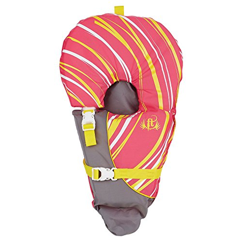 Full Throttle Infant Baby-Safe Life Jacket, Pink, Model Number: 104000-105-000-15