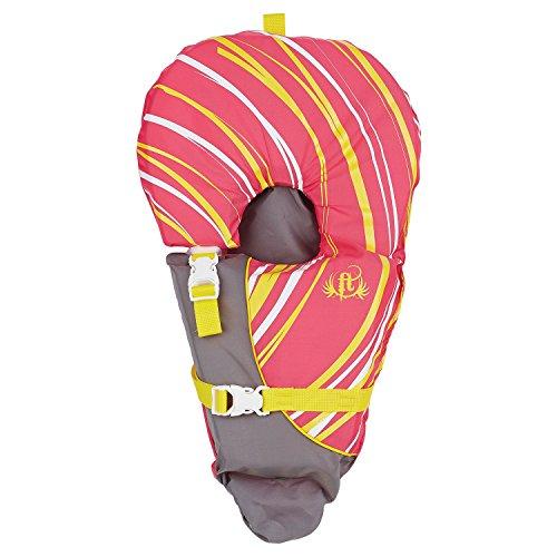 Full Throttle Infant Baby-Safe Life Jacket, Pink, Model Number: 104000-105-000-15