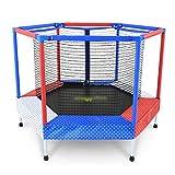 Innentrampoline Jump-Trampolin Innentrampolin Sicherheitsnetz Feder-Trampolin Kinder Sport...