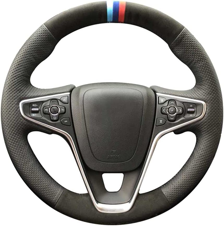 LYSHUI Black Car Steering Wheel Over item handling Opel for 2014-201 Outlet SALE Cover Insignia