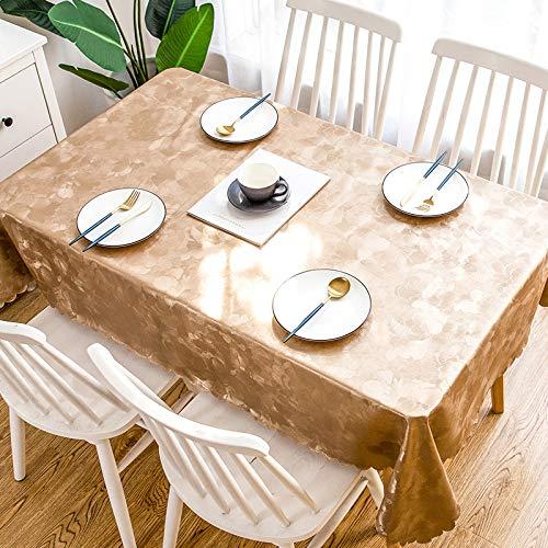 Preisvergleich Produktbild CFWL Tischdecke USA und Getta wasserdicht Tischdecke Domestica Tischdecke Anti Macchia Quadrata Tischdecke blau Quadrata Tischdecke Wachstuch 90 * 135 cm Caffè Alla Peonia