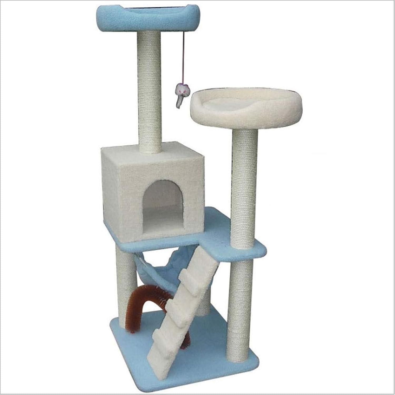 Cat Tree Cat Climbing Frame Cathouse Large Sisal Pillar Cat Jumping Platform Cat Furniture Pet Supplies Cat Toys