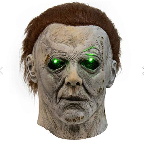 SN0wny Dead Daylight Cosplay Maske Horror Spiel Metzger Mörder Form Michael Cosplay Gesichtsbedeckung Cosplay Requisiten für Anime Ausstellung & Thema Party & Bühnenperformance & Halloween
