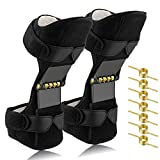 isinlive Power Knee Stabilizer Pads, Breathable Leg Knee Joint Support Knee Pads Recovery Brace with 8 Extra Powerful Rebound Springs for Weak Legs, Arthritis, Meniscus Tear Pain, Fitness and Sports