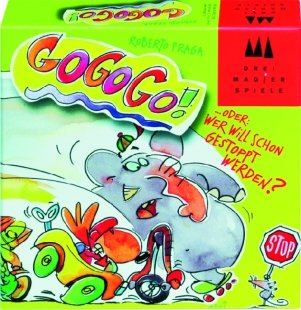 GoGoGo! (Kartenspiel). Von Roberto Fraga