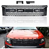 Para Ford Ranger T6 2012-2014, Parrilla Radiador Parachoques Delantero Coche, Rejilla Malla RiñóN...